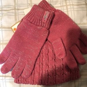 Girls Hat & Glove set by LEVI'S